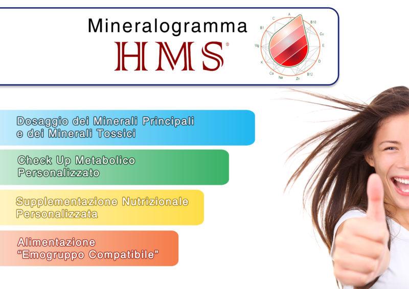 Mineralogramma del capello