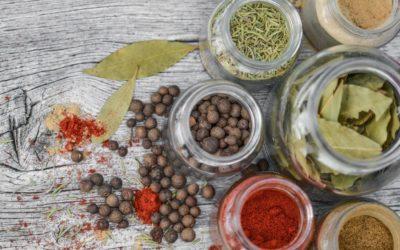 Spezie ed erbe aromatiche: prevenzione tutti i giorni