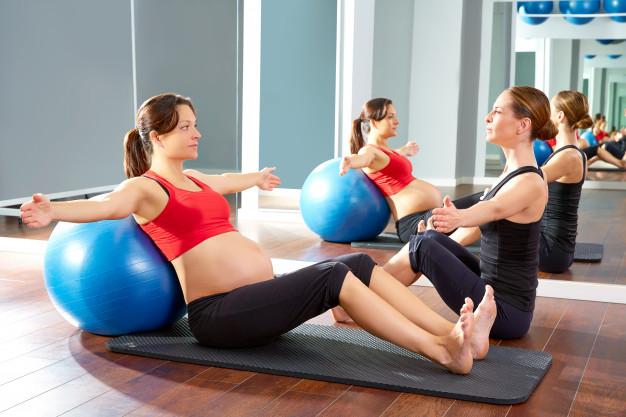gravidanza i benefici del Pilates per mamma e bambino